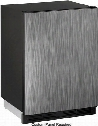 """U-CO1224FINT-00B 24"""" Compact Refrigerator with 4.2 cu. ft. Capacity Hold up to 61 Bottles or 114 Cans and Ice Maker with 8 lbs Crescent Ice Daily Production"""