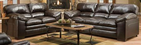 Bingo 8049-0302 2 Set Pieces Including Sofa And Loveseat With Fabric Upholstery In