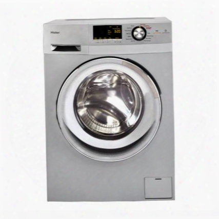 "Hlc1700axs 24"" Front Load Washer/dryer Combo With 2.0 Cu Ft. Capacity Non-vented Condensing Drying Spin Cycle Option And Stainless Steel Drum: Stainless"