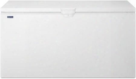 "Mzc3122fw 67"" Chest Freezer With 21.7 Cu. Ft. Capacity Sliding Storage Baskets Built-in Drain Lock Manual Defrost And Incandescent Lighting:"