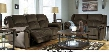 95701882PC Quinnlyn 2 PC Living Room Set with Reclining Sofa + Reclining Loveseat in Coffee