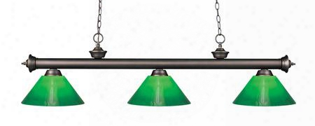 200-3ob-gcg14 3 Light Billiard