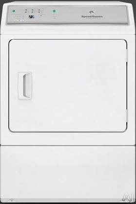 """Adee9bgs173tw01 27"""" Electric Dryer With 7.0 Cu. Ft. Capacity 7 Dry Cycles 4 Temperature Selections Eco Dry Extended Tumble My Favorite Cycles Moisture"""