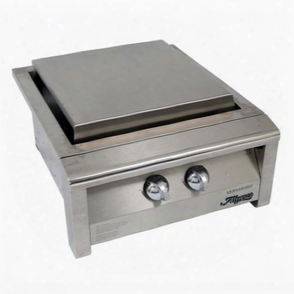 "Axevp-tg 19"" Teppanyaki Griddle For Teppanyaki Gas Grill In Stainless"