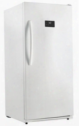 """Duf138e1wdd 28"""" Energy Star Rated Danby Designer Upright Freezer With 13.8 Cu. Ft. Capacity Frost Free Quick Freeze Function Digital Thermostat And Door"""