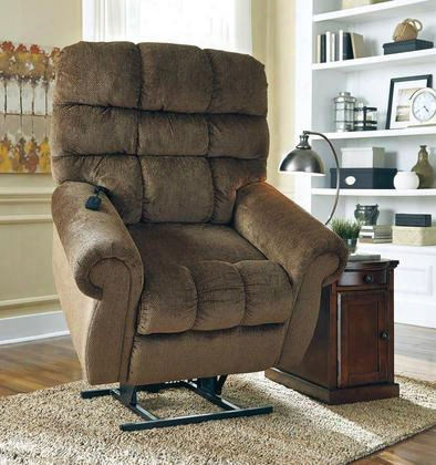 Ernestine 9760212 Power Lift Recliner With Rolled Arms Dual Motor Design And Stitcihng Details In