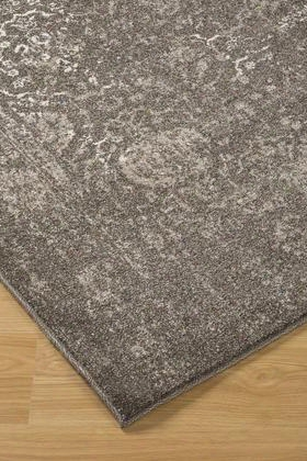 """Patras R401401 126"""" X 93"""" Large Size Rug With Polypropylene Material In Brown"""