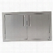 "AXE-42 42"" Double Sided Access Door in Stainless"
