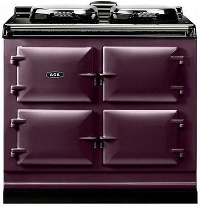 "Adc3eaub Dual Control Cast Iron Electric Range With Two 14.5"" Diameter Cast Iron Hotplates And Three 1.5 Cu. Ft. Capacity Multi-function Ovens - Roasting"