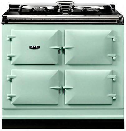 "Adc3gaqu 40"" Cast Iron Dual Fuel Range With Dual Control Two 14.5"" Diameter Cast Iron Electric Hotplates And Three 1.5 Cu. Ft. Capacity Natural Gas Operated"