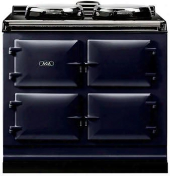 "Adc3gdbl Cast Iron Dual Fuel Range With Dual Control Two 14.5"" Diameter Cast Iron Electric Hotplates And Three 1.5 Cu. Ft. Capacity Natural Gas Operated Ovens"