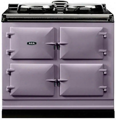 "Adc3ghea Cast Iron Dual Fuel Range With Dual Control Two 14.5"" Diameter Cast Iron Electric Hotplates And Three 1.5 Cu. Ft. Capacity Natural Gas Operated Ovens"