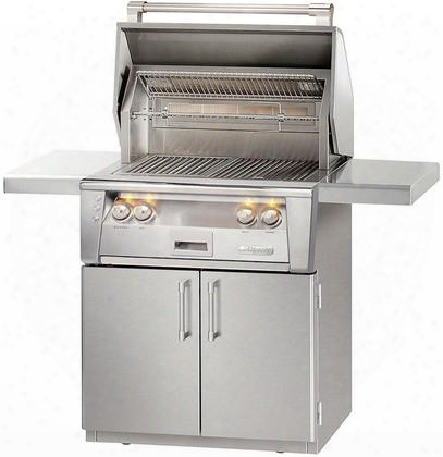 "Alxe-30irc-ng 30"" All Infra Red Grill Natural Gas With Cart In Stainless"
