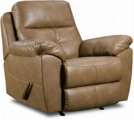 Bradford Toast 53200br-19 Rocker Recliner With Stitched Detailing Tufted Detailing And Plush Padded