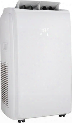 """Dpa120e1wdb 18"""" 3 In 1 Home Comfort Portable Air Conditioner With 12000 Cooling Btu 550 Sq. Ft. Cooling Area Dehumidifier Mode And Auto On/off In"""