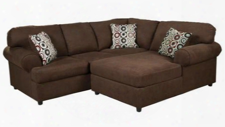 Jayceon 64904-66-17 2-piece Sectional Sofa With Left Arm Facing Sofa And Right Arm Facing Chase In Java
