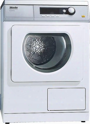 "Pt7138w 24"" Commercial Vented Dryer With 15 Lbs. Load Capacity 15 Standard Programs Honeycomb Drum With Interior Light And Perfectdry Electronic Moisture"