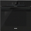 "H6660BPOBSW 24"" PureLine SensorTronic Series Single Electric Wall Oven With Convection Cooking Self Cleaning Mode SensorTronic Controls And Temperature"
