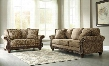 Irwindale 88404SL 2-Piece Living Room Set with Sofa and Loveseat in Topaz