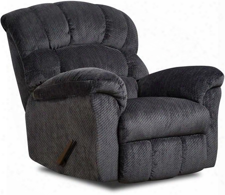 "U558-19 Victornavy Victor 43"" Rocker Recliner With Stitched Detailing Plush Padded Arms And Split Back Cushion In"