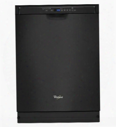 "Wdf560safb 24"" Energy Star Rated Dishwasher With Adaptive Wash Technology 1 Hour Wash Cycle Anyware Plus Silverware Basket And 5 Wash Cycles:"