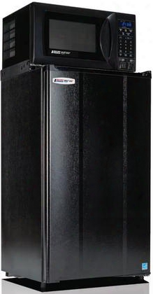 "3.6mf4a-7d1 19"" Energy Star Compact Refrigerator And Microwave Combination With 3.6 Cu. Ft. Refrigeration Capacity 0.7 Cu. Ft. Microwave Capacity Freezer"