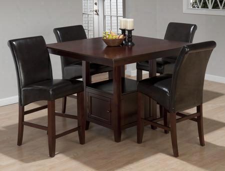 933-48tbktset5 Tessa Chianti Counter Height Table With Storage