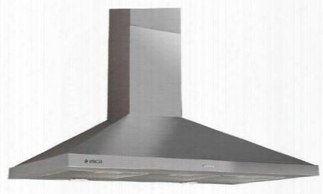 "Evl436s1 36"" Comfort Series Volterra Wall Mount Chimney Hood With 400 Cfm Internal Blower 3 Fan Speeds Dishwasher-safe Aluminum Mesh Filter Push Button"