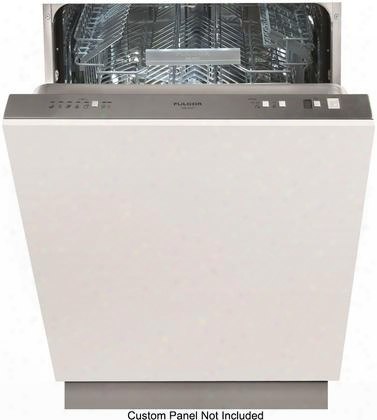 "F6dw24fi1 24"" 600 Series Fully Integrated Dishwasher With 13 Place Settings 50 Db Noise Level 9 Wash Programs And Stainless Steel Talp Tube: Panel"