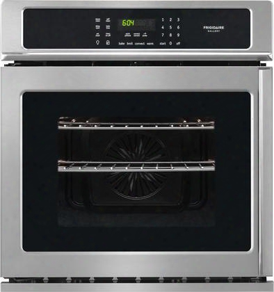 "Fgew276spf 27"" Single Electric Wall Oven With 3.8 Cu. Ft. Capacity True Convection One-touch Keep Warm Setting Delay Start Self Clean In Stainless"