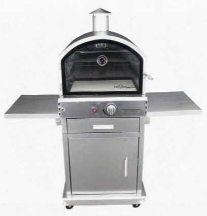 Hcp16ss Us Stove Outdoor Gas Oven Up To 16000 Btu Stzinless Steel Oven And Cart Convenient Electronic