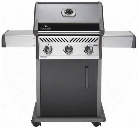 "R425pk 51"" Rogue 425 Series Freestanding Liquid Propane Grill With 535 Sq. In. Cooking Surface 3 Stainless Steel Tube Burners Wave Cooking Grids And Warming"