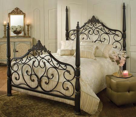 1450bkr Parkwood Bed Set - King - W/rails Black