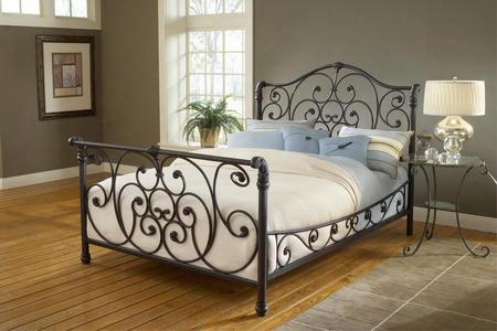 1579bkr Mandalay Bed Set - King - W/side Rails Rustic Old