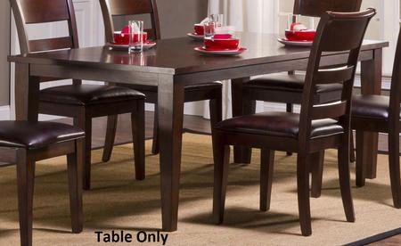"4692-815 Park Avenue 64""-82"" Dining Table With 18"" Extendable Leaf And Mdf With Mahogany Veneer Construction In Dark Cherry"