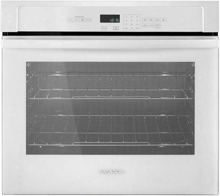 "Awo6317sfw 27"" Single Wall Oven With 4.3 Cu. Ft. Capacity Temp Assure Cooking System Easy Touch Electronic Controls Self-clean And Hidden Bake Element In"