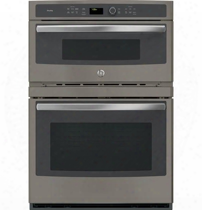 "Pt7800ekes 30"" Built-in Convection Oven/ Microwave With 1.7 Cu. Ft. Capacity True European Convection Glass Touch Controls Ten-pass Bake Elements"