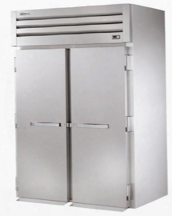 Stg2hri-2s Spec Series Two-section Roll-in Heated Holding Cabinet With 75 Cu. Ft. Capacity Low-velocity Fans And Solid