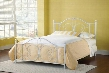 1687BKR Ruby Bed Set - King - w/Rails Textured