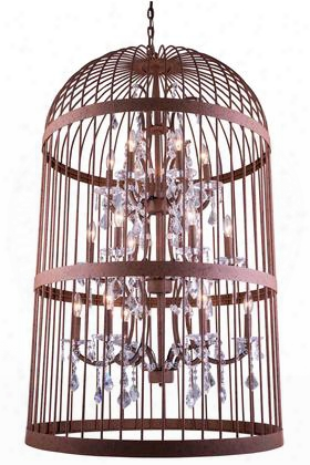 1207g30ri/rc 1207 Austin Collection Pendent Lamp D: 30 H: 50 Lt: 18 Rustic Intent Finish (royal Cut