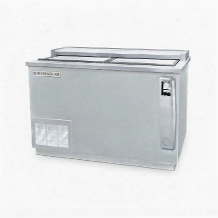 Dw49-s Deep Well Bottle Cooler 2 Lids And 3 Dividers 13.3 Cu.ft. Capacity Stainless Steel Exterior And Bottom Mounted