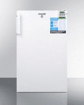"""Ff511lbivacada 20"""" Vac Series Medical Freestanding Or Built In Compact Refrigerator With 2.5 Cu. Ft. Capacity Ada Compliant Factory Installed"""