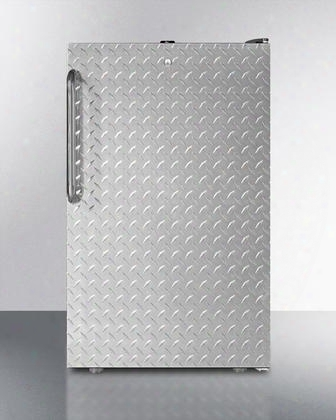 """Ff521bl7dplada Commercially Listed Ada Compliant 20"""" Wide Counter Height All-refrigerator With 4.1 Cu. Ft. Capacity Factory Installed Lock Automatic Defrost"""