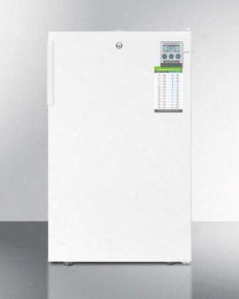 """Fs407lbi7plusada Ada Compliant 20"""" Wide Commercial All-freezer With 2.8 Cu. Ft. Capacity Traceable Thermometer Factory Installed Lock Manual Defrost"""