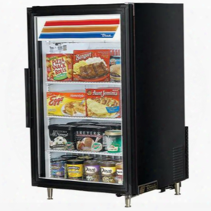 Gdm-7f-ld Counter-top Freezer Merchandiser With 7 Cu. Ft. Capacity Led Lighting And Thermal Insulated Glass Swing-door In