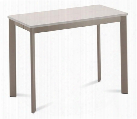 Mon.t.105b.to.vca Mondo-m Rectangular Console Table With Sand Glass Top And Taupe Mat Lacquered