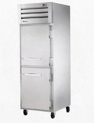 Sta1h-2hs Spec Series Reach-in Heated Holding Cabinet With 31 Cu. Ft. Capacity Low-velocity Fans And Solid Half