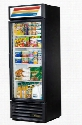 GDM-19T-HC-LD Refrigerator Merchandiser with 19 Cu. Ft. Capacity LED Lighting and Thermal Insulated Glass Swing-Door in