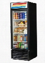 GDM-23-HC-LD Refrigerator Merchandiser with 23 Cu. Ft. Capacity Hydro Carbon Refrigerant LED Lighting and Thermal Insulated Glass Swing-Door in