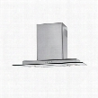 "HCH3100ACS 30"" Wall-Mount Range Hood with 450 CFM Motor Three Speeds Halogen Lighting and Three-Layer Washable Grease Filter in Stainless Steel with Tempered"